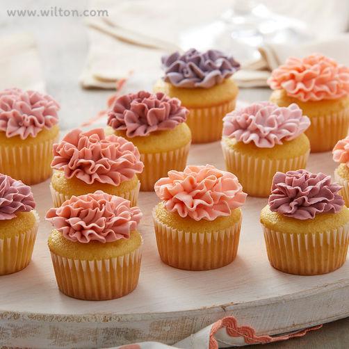 Carnation-mini-cupcakes