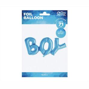 BALON FOLIOWY BOY 71 CM