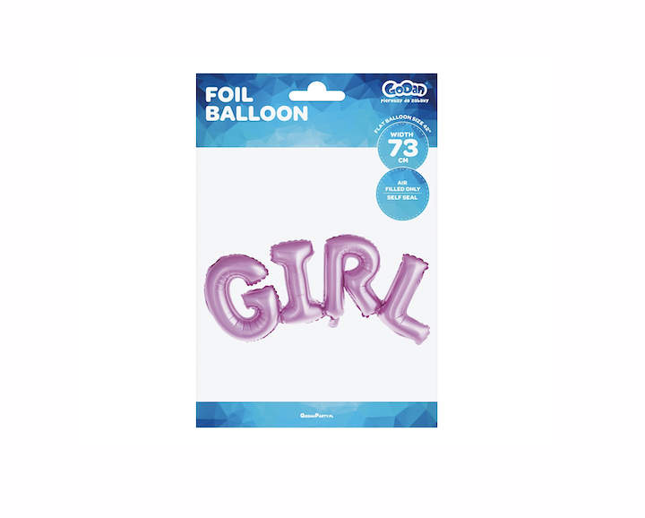 BALON FOLIOWY GIRL 73 CM