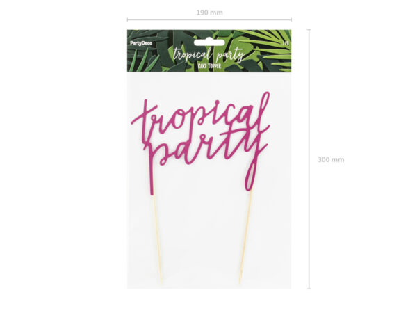 TOPPER NA TORT TROPICAL PARTY 32