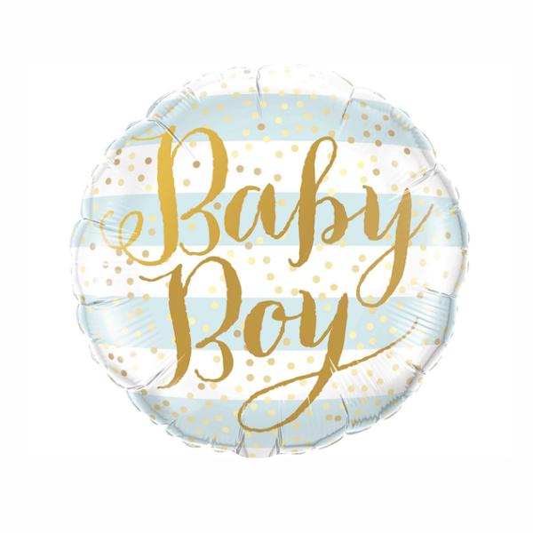 BALON FOLIOWY BABY BOY 46 CM