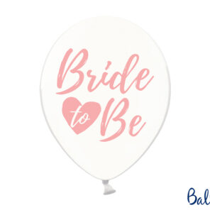 BALON BRIDE TO BE RÓŻOWY 30 CM