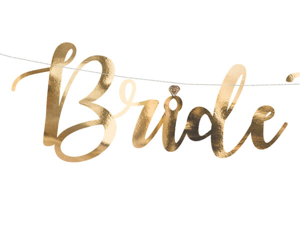 GIRLANDA BRIDE TO BE