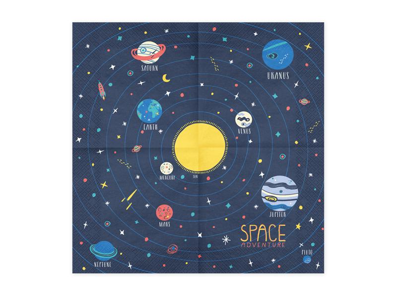 SERWETKI SPACE KOSMOS