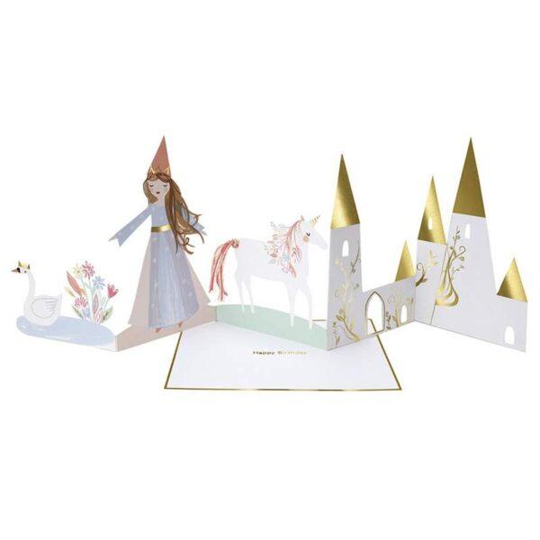 KARTKA URODZINOWA 3D KSIĘŻNICZKA MERI MERI 1