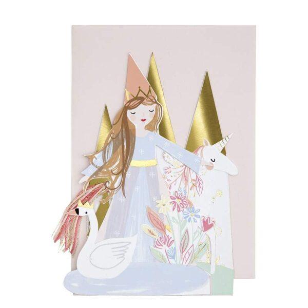 KARTKA URODZINOWA 3D KSIĘŻNICZKA MERI MERI 2