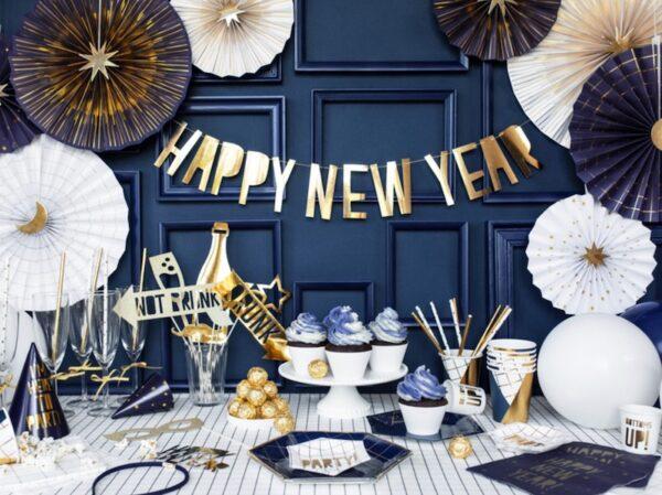 GADŻETY DO ZDJĘĆ HAPPY NEW YEAR 8 SZT 1
