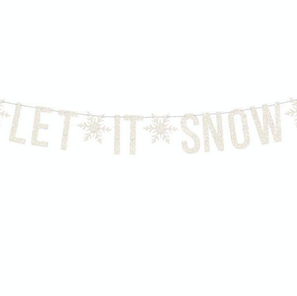 GIRLANDA LET IT SNOW