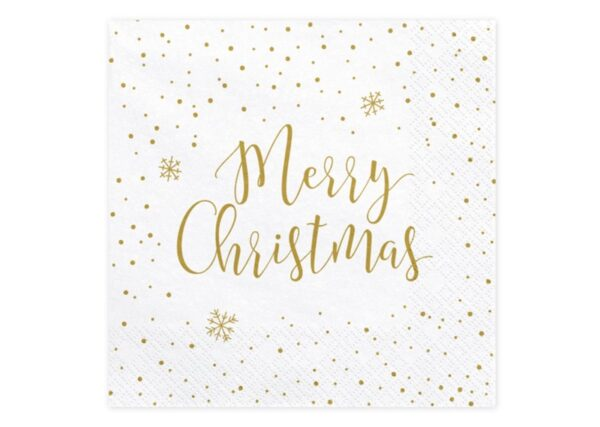 SERWETKI MERRY CHRISTMAS 1