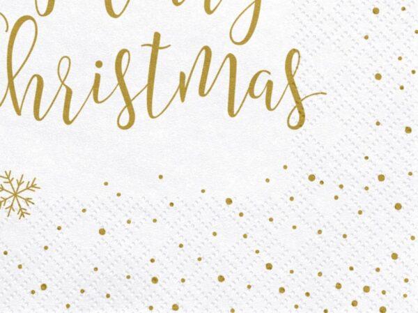 SERWETKI MERRY CHRISTMAS 2
