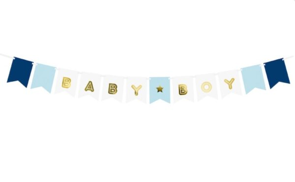 GIRLANDA BABY BOY 1