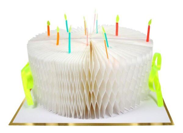 KARTKA URODZINOWA 3D TORT MERI MERI 1
