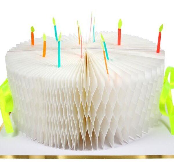 KARTKA URODZINOWA 3D TORT MERI MERI