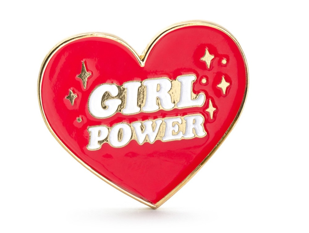 PRZYPINKA GIRL POWER