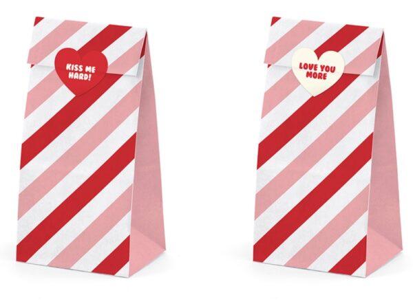 TOREBKI PAPIEROWE SWEET LOVE 8x18x6 CM