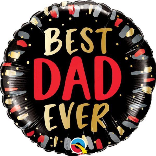 BALON FOLIOWY BEST DAD EVER 46 CM
