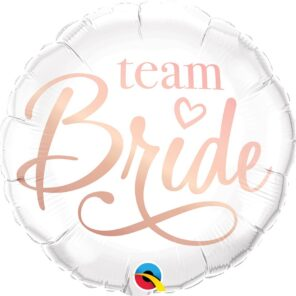 BALON FOLIOWY TEAM BRIDE 46 CM
