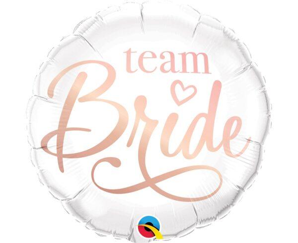 BALON FOLIOWY TEAM BRIDE 46 CM