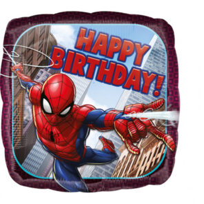 BALON SPIDERMAN HAPPY BIRTHDAY 43 CM