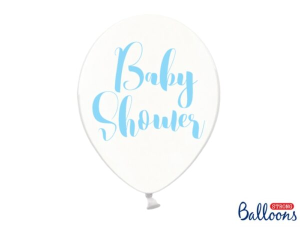 BALON BABY SHOWER NIEBIESKI 30 CM