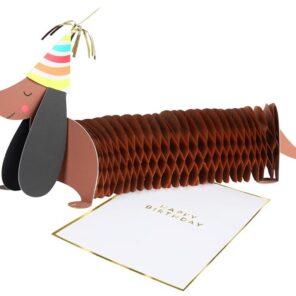 KARTKA URODZINOWA 3D JAMNIK MERI MERI