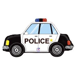 BALON FOLIOWY POLICJA 86 CM
