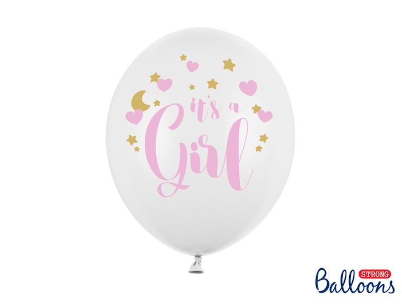 BALON IT'S A GIRL 30 CM