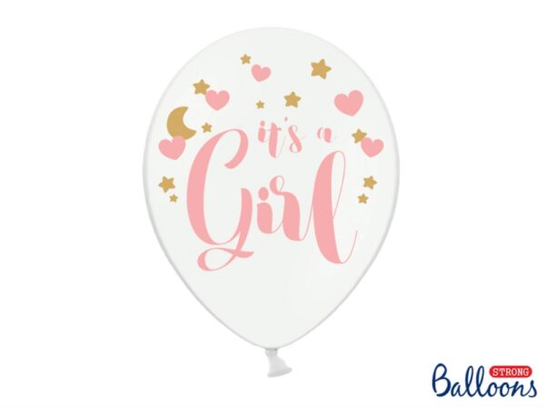 BALON IT'S A GIRL 30 CM