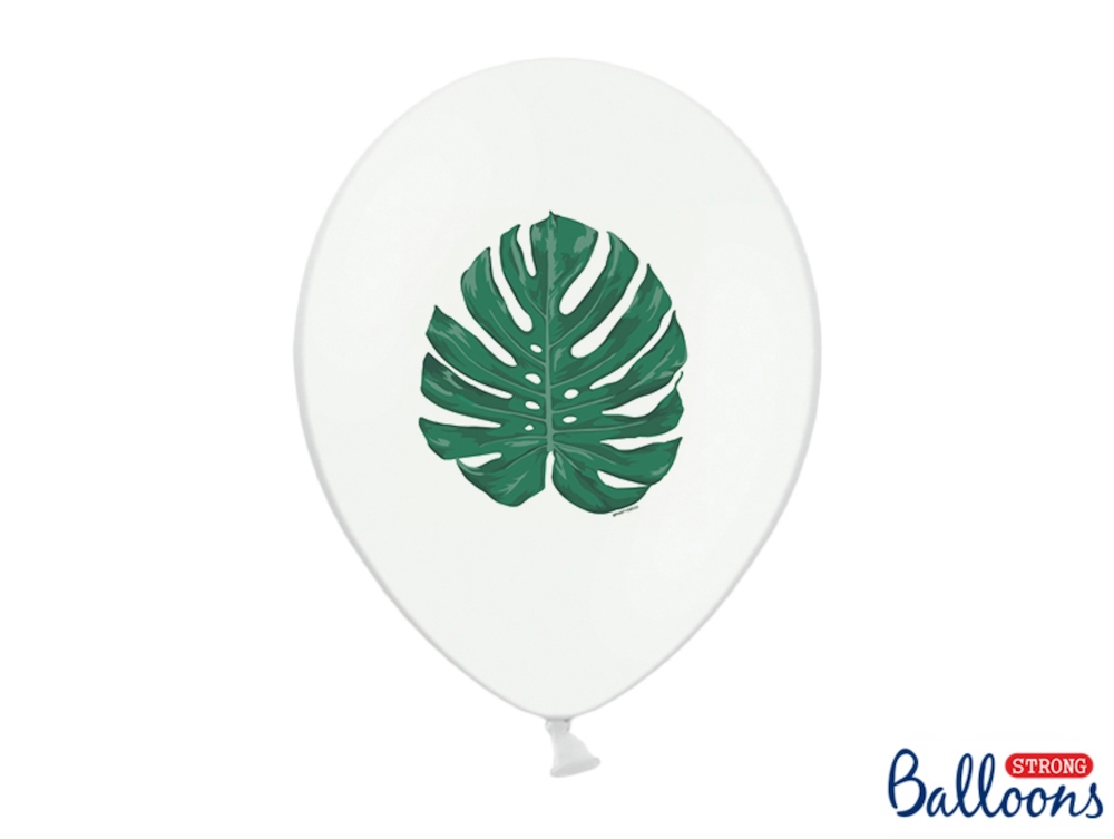 BALON MONSTERA 30 CM