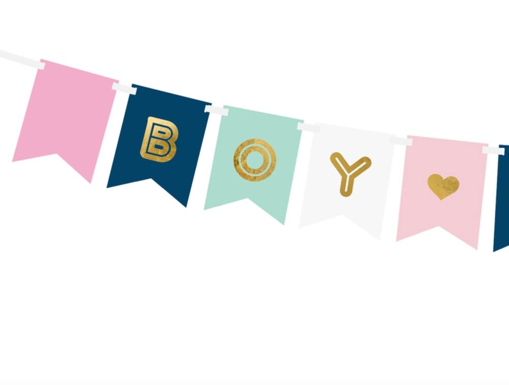 GIRLANDA BOY OR GIRL