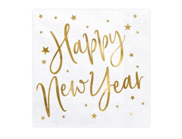 SERWETKI HAPPY NEW YEAR 1