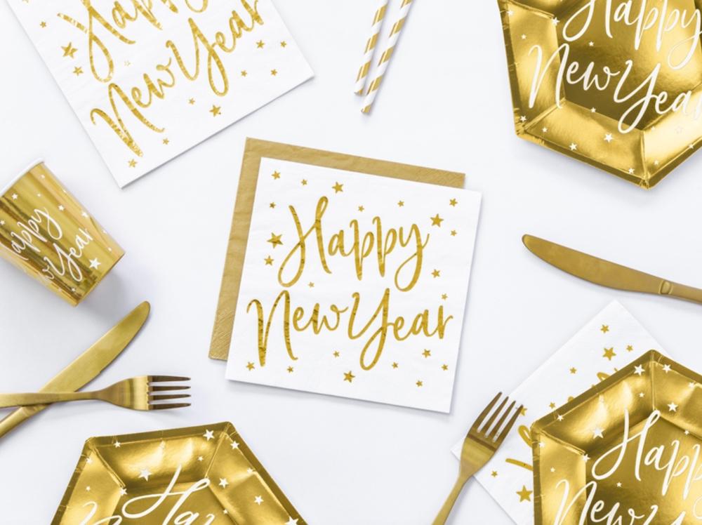 SERWETKI HAPPY NEW YEAR