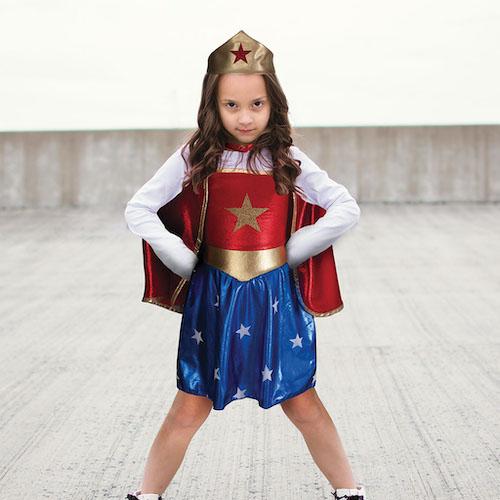 KOSTIUM SUPERHERO GIRL 5 - 6 LAT