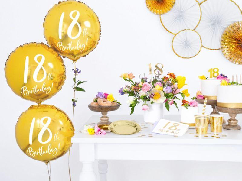SERWETKI 18TH BIRTHDAY