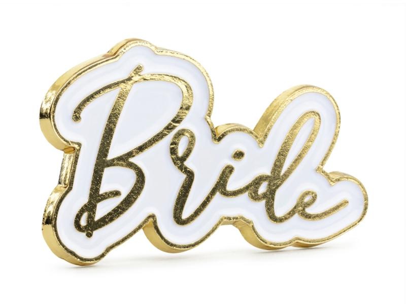 PRZYPINKA BRIDE 3,5 CM
