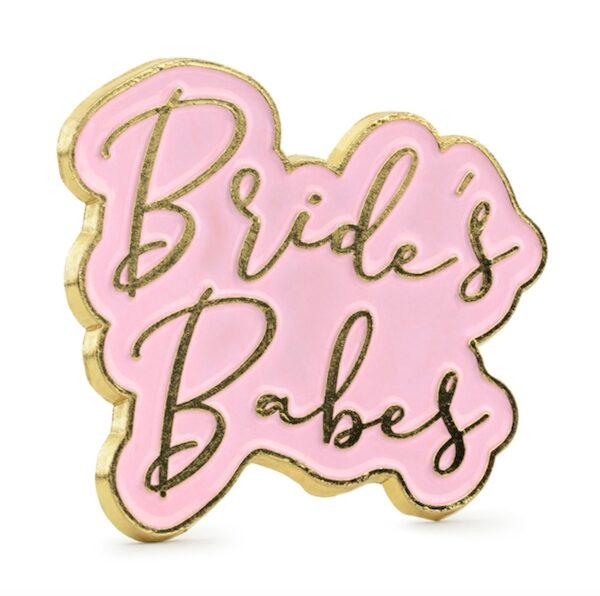 PRZYPINKA BRIDE'S BABES 3,5 CM