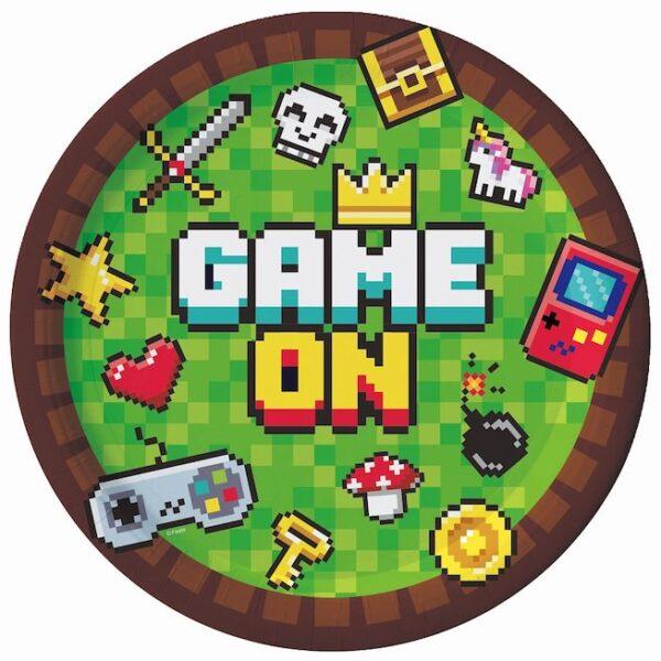 TALERZYKI GAME ON 18 CM